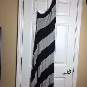 Cato one shoulder maxi dress